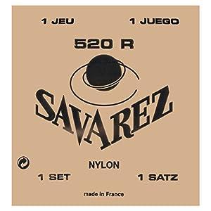 SAVAREZ サバレス クラシックギター弦 ピンクラベル ノーマルテンション3弦 523R (3st)