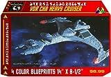 Klingon Vor'Cha Heavy Cruiser Blueprints Star Trek by Starbase 79 [並行輸入品]