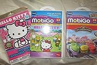 Vtech–Mobigo Learning Toys–2ソフトウェアゲームカートリッジ値パックバンドル: Hello Kitty Chuggington