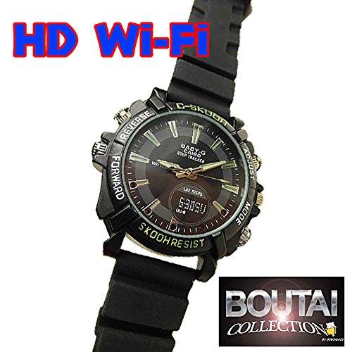 Wi-Fi対応 Gショック風 腕時計型ビデオカメラ 最新版 ...