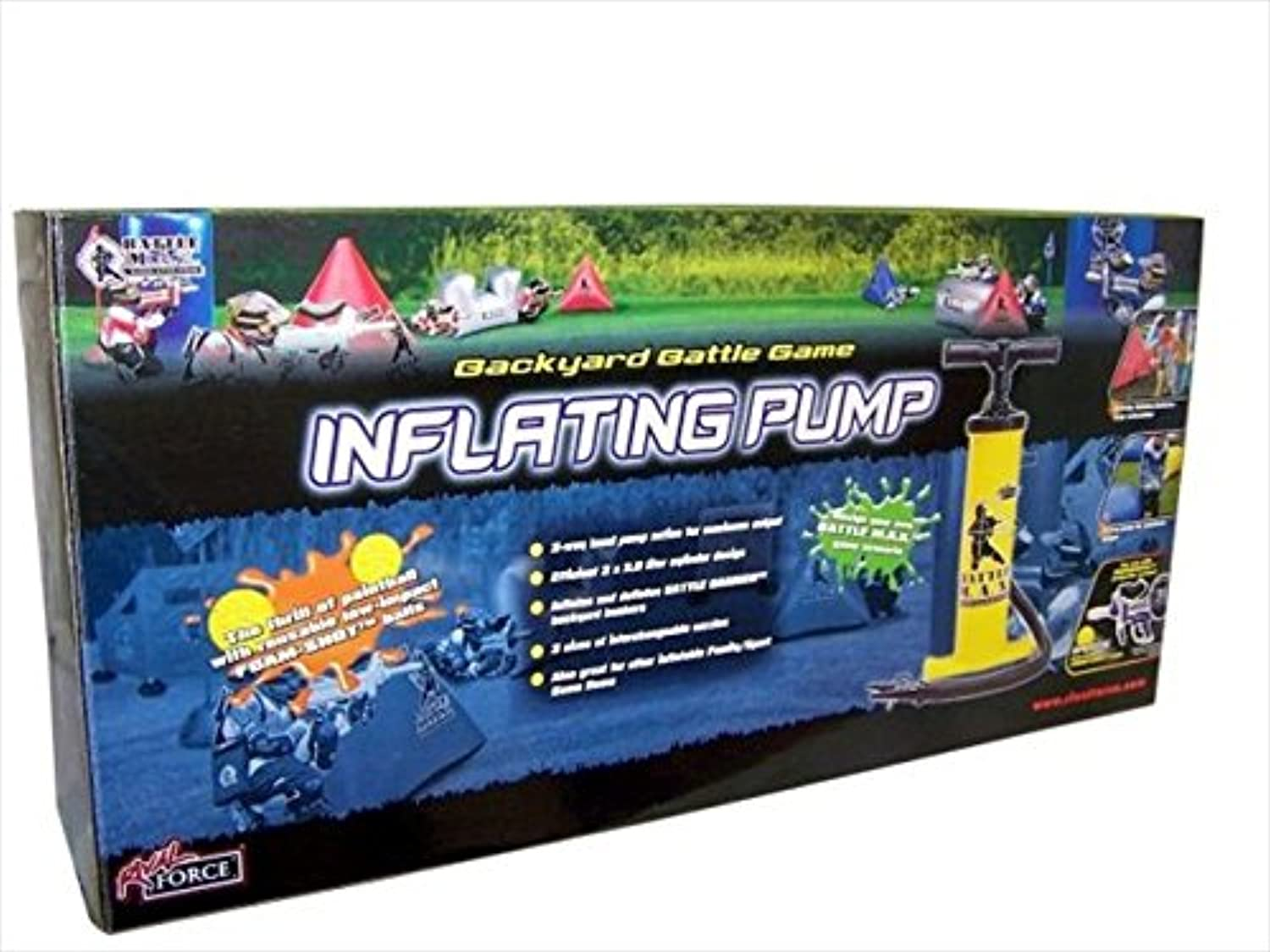 Battle Max Backyard Battle Game Inflating Pump
