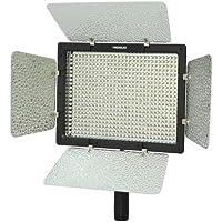 Yongnuo YN-600 LEDビデオライト 600球のLEDを搭載 カメラ&ビデオカメラ用 (AC電源アダプター付きYN-600, 5500K/3200K)