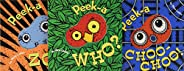 Peek-a Who? Boxed Set: (children's Animal Books, Board Books for K
