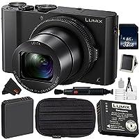 Panasonic Lumix DMC - dmc-lx1020.1MP Leica DC光学ズームデジタルカメラバンドルwith Carrying Case + More (国際バージョン)