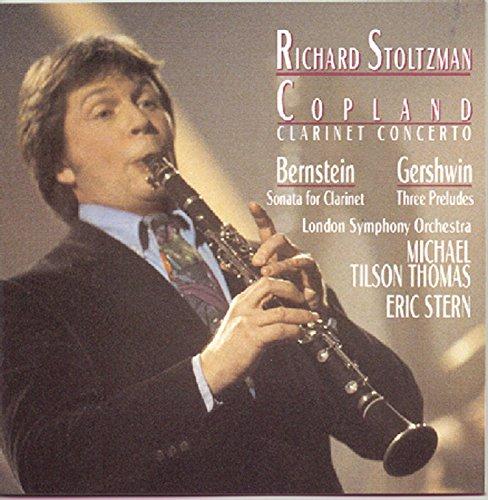 Copland: Clarinet Concerto;  Bernstein, Gershwin / Stoltzmanの詳細を見る