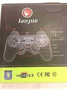 PC ゲームパッド PS3デザイン コントローラ win7&PS3対応 COtL-1 by UJack