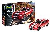 ドイツレベル 1/25 2010年 フォード シェルビー GT500 プラモデル 07044