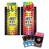 JUST★FIT(ジャストフィット) 2 箱セット(Lサイズ, XLサイズ) + ルリアンラグジュアリー