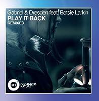 Play It Back【CD】 [並行輸入品]