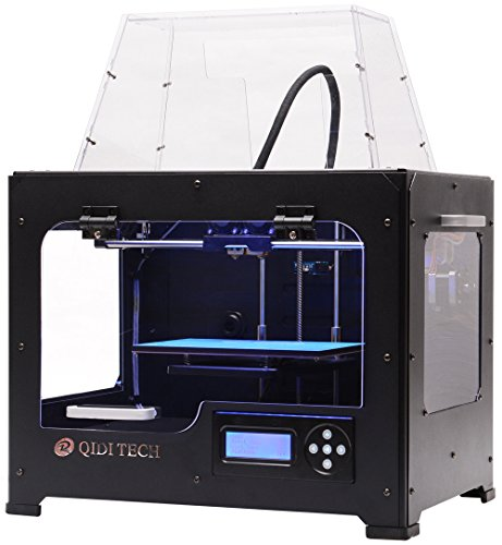 QIDI技術3Dプリンター/ ABS / PLA 1.75mm デュアル押出...