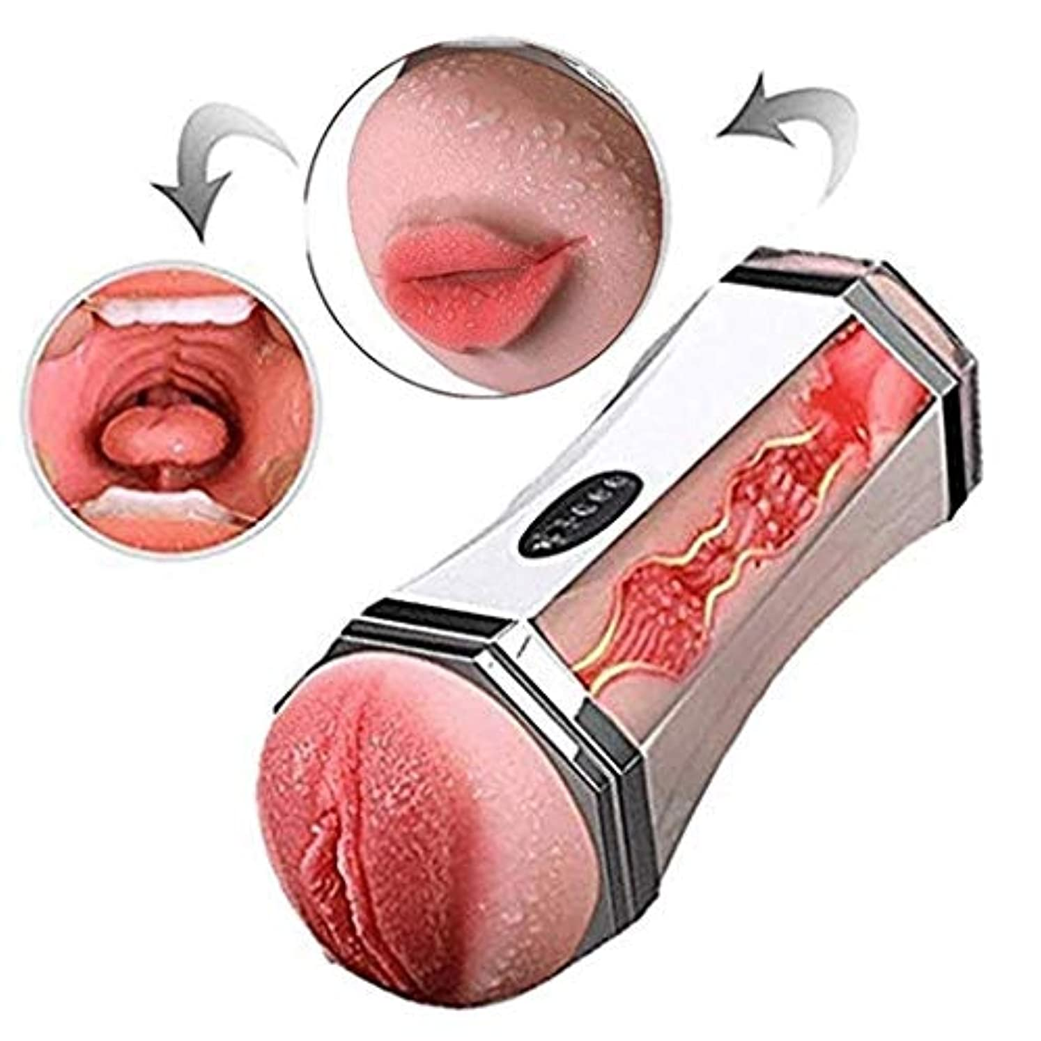大みぞれパリティOHMMSG USB Rechargable Handheld Body Massage Tools Deep Muscle Massager with Heat and Powerful Vibration防水エアクラフトカップ
