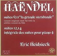 Haendel: Integrale des 16 suites pour piano