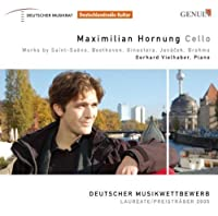 Maximilian Hornung: Cello by SAINT-SAENS / BEETHOVEN / GINAST (2008-01-01)
