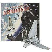ホールマークスクエア誕生日Grandson Kids Star Wars Darth Vaderカード–Large