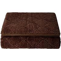 (セシール) cecile パッドシーツ ふわふわ毛布生地で作ったマイクロパッドシーツ コーヒーブラウン ダブル CZ-659 CZ-659