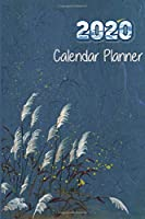 2020 Calendar Planner: Monthly weekly dated with US holiday planner journal organizer, January through December agenda books 6 x 9 inches