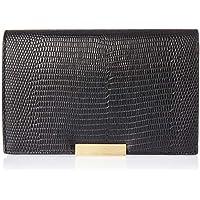 Oroton Women's Cruise Large Wallet, Black, One Size