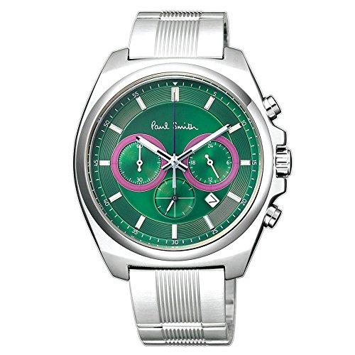 Paul Smith ポールスミス メンズ 腕時計 ファイナルアイズ クロノグラフ グリーン Finaleyes Chronograph BA4-612 新品 【並行輸入品】