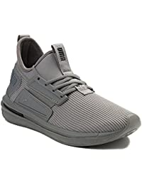(プーマ) Puma 靴?シューズ メンズスニーカー Mens Puma Limitless Knit Athletic Shoe Gray Monochrome グレー モノクローム US 7.5 (25.5cm)