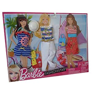 Barbie(バービー) Fashionistas Marina Outfits X2233 ドール 人形 フィギュア(並行輸入)