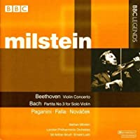 Violin Concerto / Partita / Caprice by Nathan Milstein (2004-09-21)