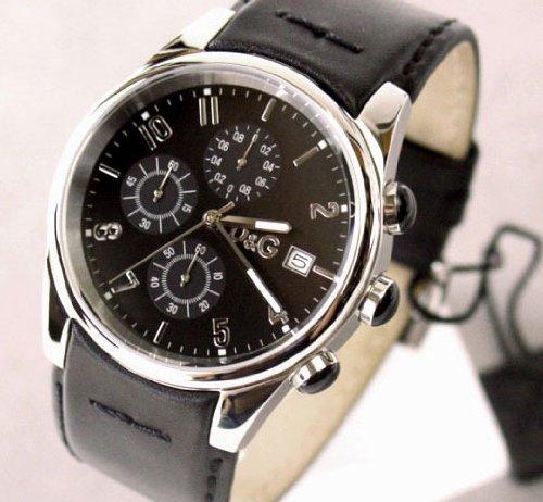 D&G ドルガバ 腕時計 メンズ クロノグラフ サンド...