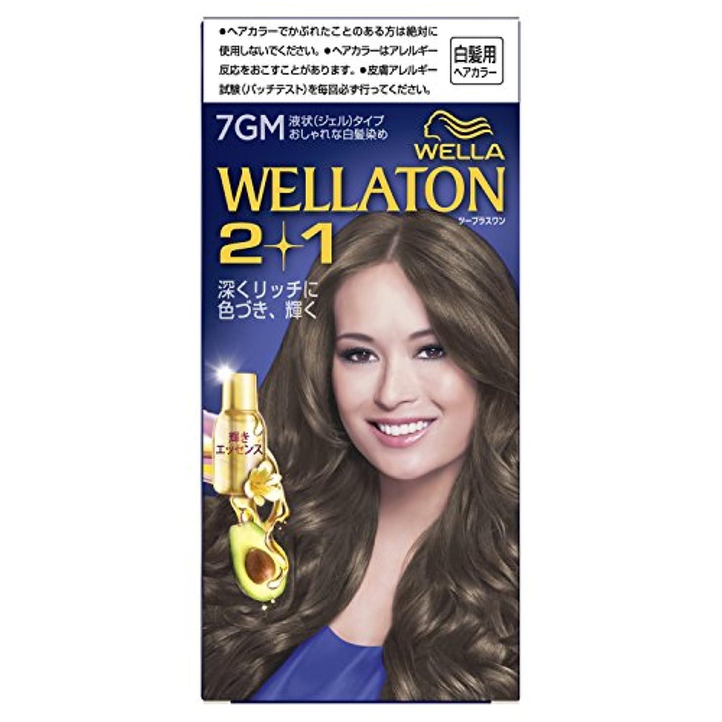 士気卒業記念アルバムに付けるウエラトーン2+1 液状タイプ 7GM [医薬部外品](おしゃれな白髪染め)