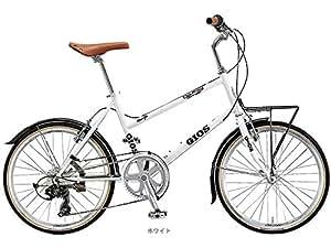 GIOS(ジオス) PULMINO(プルミーノ) (1x7速) ミニベロバイク20インチ [400mm ホワイト]