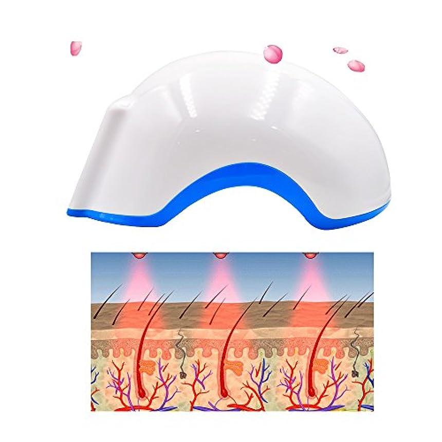 解釈閉塞ビジターヘルメット型 低出力レーザー器 発毛レーザー 薄毛、脱毛治療 ヘアーレーザー育毛ヘルメット(男女共用)薄毛、脱毛治療