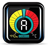 KLIQ UberTuner - Clip-On Tuner for All Instruments - with Guitar Bass Violin Ukulele & Chromatic Tuning Modes