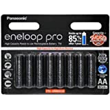 Panasonic Eneloop Pro 8 Pack Rechargeable AA Battery Pack Made in Japan 2550MAH