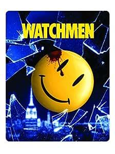 【Amazon.co.jp限定】ウォッチメン スチールブック仕様ブルーレイ(数量限定) [Blu-ray]