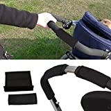 D DOLITY Stroller/Pram/Buggy/Pushchair Handle Covers Single Bar Grip Covers