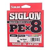 サンライン(SUNLINE) ライン シグロン PEx8 200m 5色 0.6号 10LB J