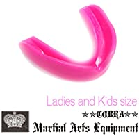 COBRA 薄型マウスピース LADIES AND JUNIOR MOUTH GUARD PINK