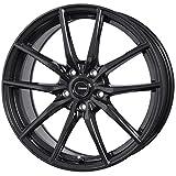 HOT STUFF(ホットスタッフ)G、speed (ジースピード)G-02 アルミホイール4本セット 16インチ6.5J INSET48 PCD100 HOLE5 カラー:メタリックブラック