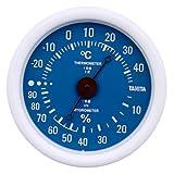 タニタ(Tanita) 温湿度計 ブルー TT-515 BL 壁掛け