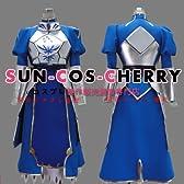 コスプレ衣装 V-061 Fate/Zero フェイト/ゼロ セイバー SABER ドレス+鎧 女性Lサイズ