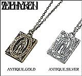 (ゼファレン)ZEPHYREN METAL NECKLACE -Guadalupe- ネックレス FREE ANTIQUE.GOLD
