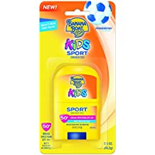Banana Boat Kids Sport Broad Spectrum Sunscreen Stick with SPF 50 0.05 Ounce