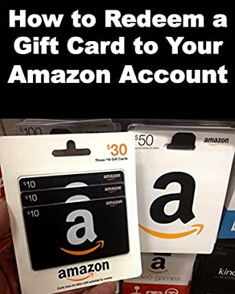 Amazon how to redeem a gift card to your amazon account step by kindle kindle pc kindle negle Choice Image