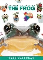 THEFROG 蛙 カエル 卓上カレンダー 2020年カレンダー 小動物 グッズ かえる アニマル