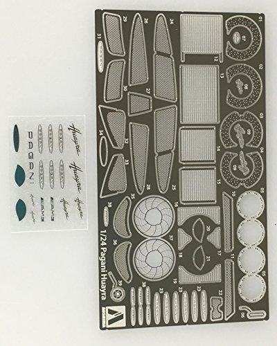 青島文化教材社 1/24 スーパーカーディテールアップパーツ No.7 パガー二 ウアイラ ディテールアップパーツ プラモデル用パーツ