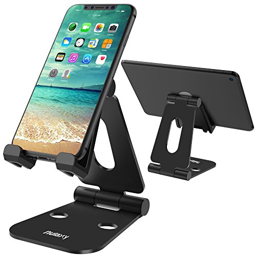 iPad/タブレット用スタンド 充電スタンド 折り畳み式 270°自由調整可能 Nintendo Switchにも対応 BLACK