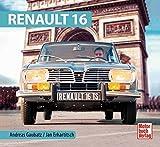 自動車洋書「Renault 16」 解説書