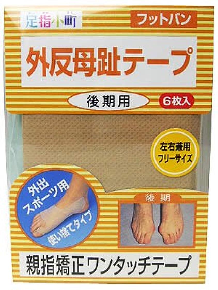 の慈悲で消す韓国足指小町 フットバン 足用 6枚入 フリーサイズ ベージュ