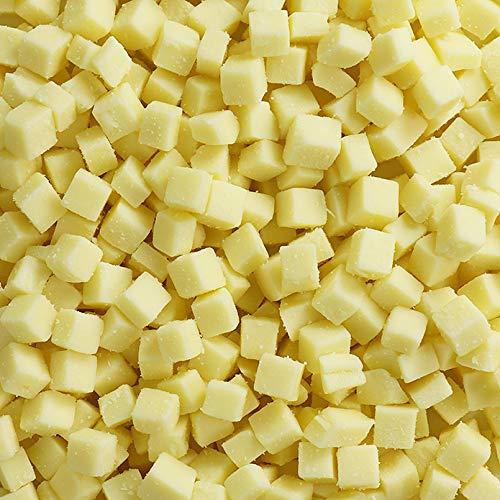 モッツァレラチーズ 1kg 10mmダイスカット ニュージーランド産 ナチュラルチーズ ピザ/グラタン/サラダ 業務用たっぷり 100% NATURAL 10MM DICED MOZZARELLA CHEESE FROM NEW ZEALAND (1KG)