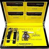 SWISS MILITARY 世界限定 約6000m防水 自動巻き腕時計 オリジナル布ダストカバー[プレゼント セット] …