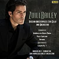 Russian Masterpieces for Cello & Orchestra