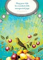 Tree Free Greetings May Your Life Birthday Cards 2 Card Set Bird Multicolored (12522) [並行輸入品]